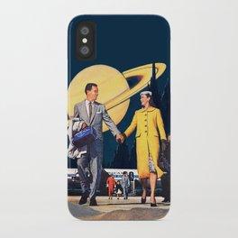 Hyperspace via Economy Plus iPhone Case
