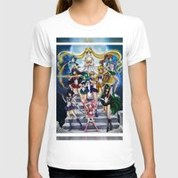 sailor moon T-shirts featuring SAILOR MOON  by CARLOSGZZ