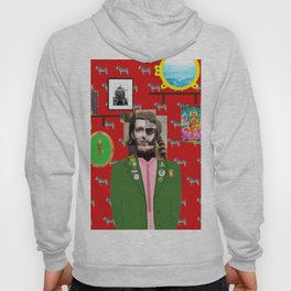 Wes Anderson illustration Hoody