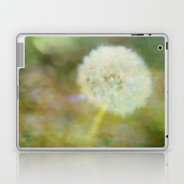 Dandelion Wishes Yellow Laptop & iPad Skin