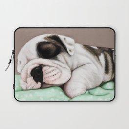 Sleeping Puppy Laptop Sleeve