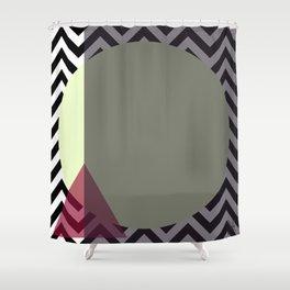 Risemoonrise Shower Curtain