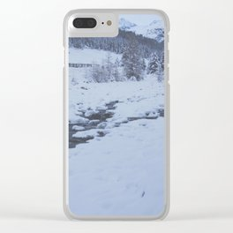 deepest winter Clear iPhone Case