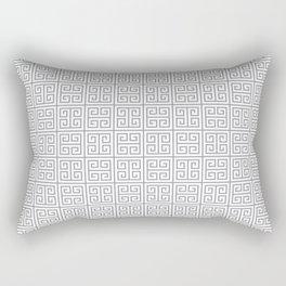 Fretwork Pattern Rectangular Pillow