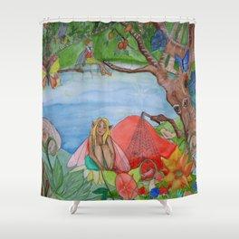 Fairy Magical Garden Shower Curtain