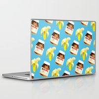 nutella Laptop & iPad Skins featuring Because you and me are meant to be by popsicledonut