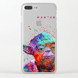Yoda Clear iPhone Case