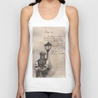 lovecraft Tank Tops featuring Lovecraft Series:  Deep Ones by Furry Turtle Creations