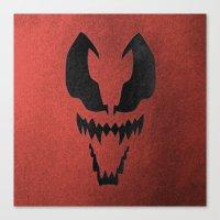 venom Canvas Prints featuring Venom by Beastie Toyz