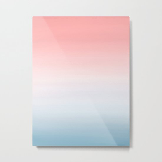 Pantone Ombre 2016 Color of The Year Metal Print