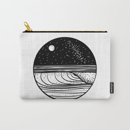 Starlit Wave Carry-All Pouch