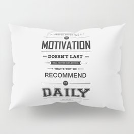 Lab No. 4 People Often Say Zig Ziglar Motivational Quote Wall Decor Pillow Sham