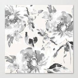 Floral Pillow Canvas Print
