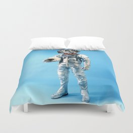 Astronaut-Dalmatian Duvet Cover