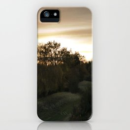 End of a lovely day iPhone Case