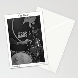 Birds in the Boneyard, Print 19: Teo Rocks! Stationery Cards