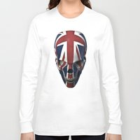 british flag Long Sleeve T-shirts featuring British horror by GrandeDuc