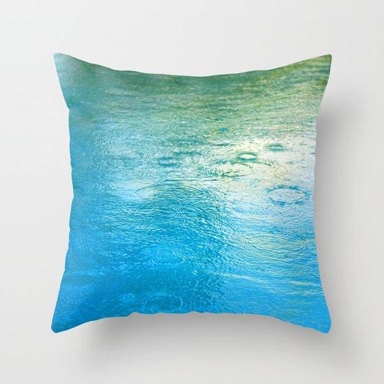 raindance Throw Pillow