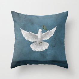 Genesis 8:11 Throw Pillow