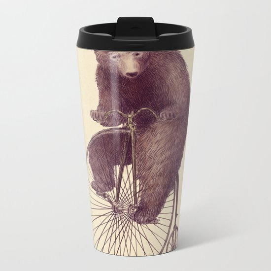 Morning Ride Metal Travel Mug