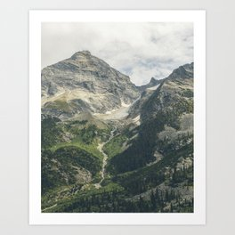 Canadian Rockies I Art Print