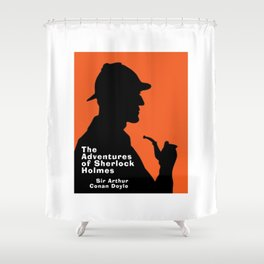 The Adventures of Sherlock Holmes Shower Curtain