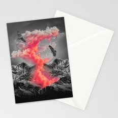 Burn Brighter In the Dark Stationery Cards