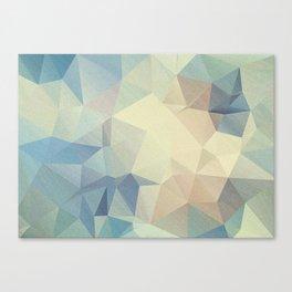 Abstract polygonal 2 Canvas Print