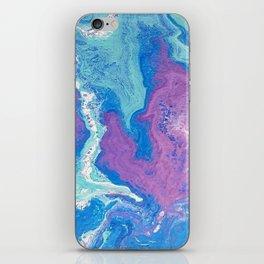 Lavender Blue iPhone Skin