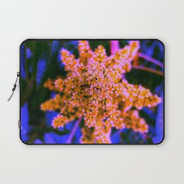 Yellow, Pink, and Blue Sumac Bloom Laptop Sleeve