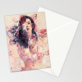 Angel Face Stationery Cards