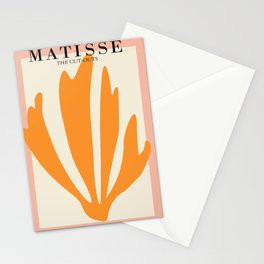 Henri matisse the cut outs contemporary, modern minimal art Stationery Cards