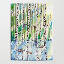 Flooded Forest Poster
