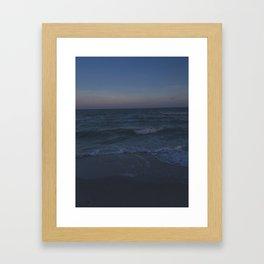 Ocean Blues Framed Art Print