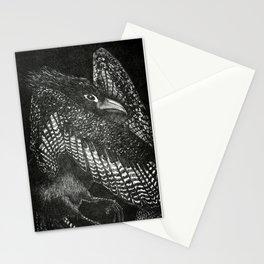 Night bird Stationery Cards