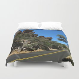 Scenic Bonita Canyon Road Duvet Cover