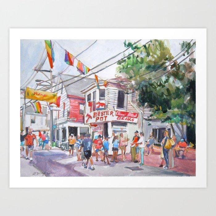 Lobster Pot, Provincetown Art Print