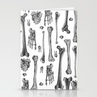 bones Stationery Cards featuring Bones by Deborah Panesar Illustration