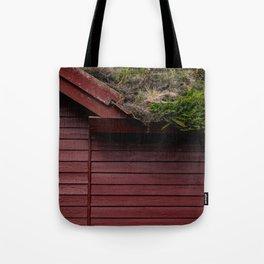 The Scandinavian House Tote Bag