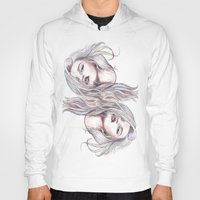 sky ferreira Hoodies featuring Sky Ferreira  by Asquared2Art