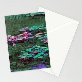 Beverly Hills Water Lily Stationery Cards
