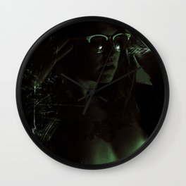 Suicide Witch in Critique II Wall Clock