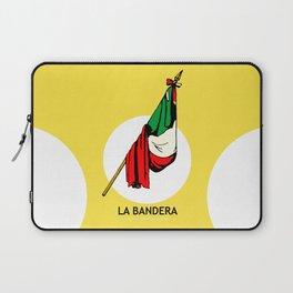La Bandera Mexican Loteria Card Laptop Sleeve
