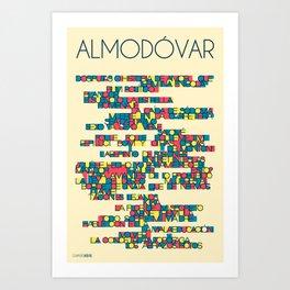 Almodóvar Art Print