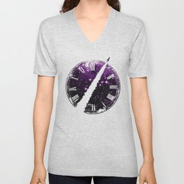 A Journey through Space and Time 2 Unisex V-Neck