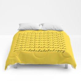 You make me happy Comforters