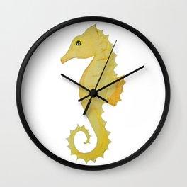 Seahorse Winsomeness Wall Clock