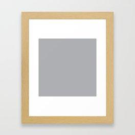 Harbor Mist - Fashion Color Trend Spring/Summer 2018 Framed Art Print