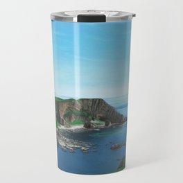 Islay Scotland Oil on Canvas Travel Mug