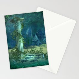 Underwater Ruins Stationery Cards